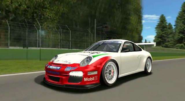 Porsche en plena acción