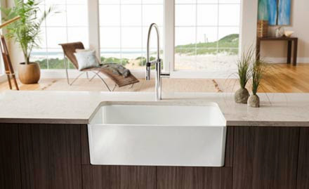 ... : Want to See a Drop Dead Gorgeous Kitchen Sink? - BLANCO America
