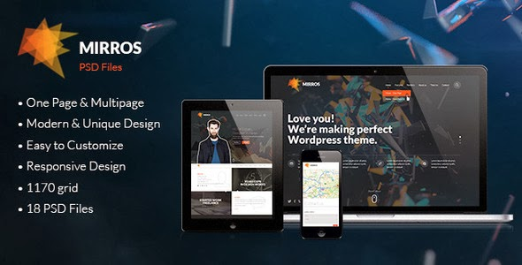 new Creative PSD Template