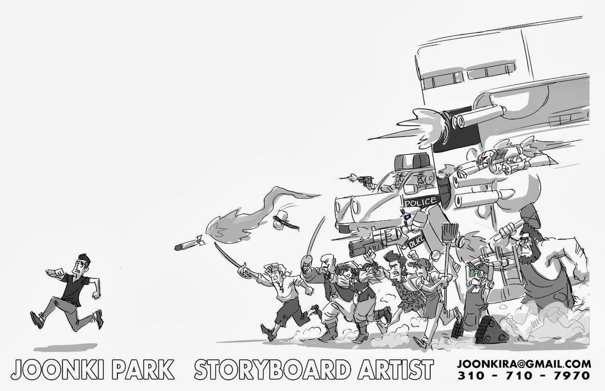 JOONKI PARK'S STORYBOARD PORTFOLIO
