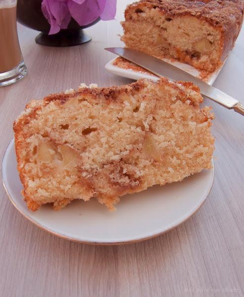 Bizcocho de manzana sidra y canela cocina for Bizcocho de manzana y canela