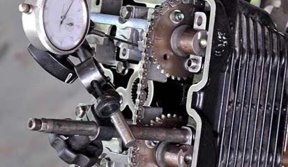 Tips dan Cara Mengatasi, Mencegah, Memperbaiki Rantai Keteng Suzuki Satria Fu Berisik