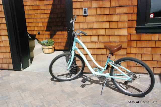 The perfect learn-to-ride bike for an adult, and so pretty!