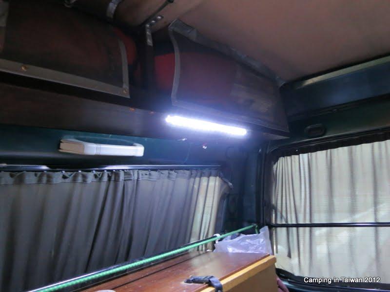 Bug Out Van Interior : Bug out vehicle delica l cabin interior led lighting