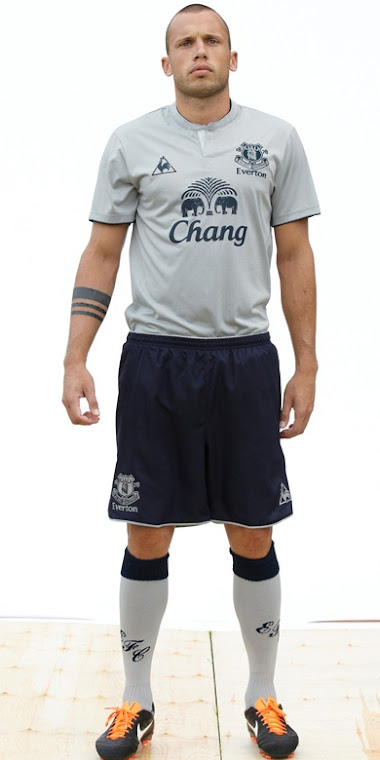 Everton's Silver 3rd Kit