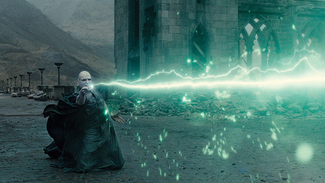 Harry Potter's wand VFX.