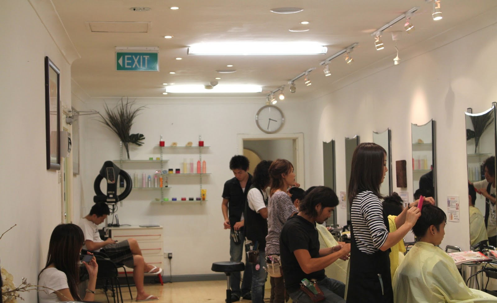 Floral Tiger Aria Japanese Hair Salon Review