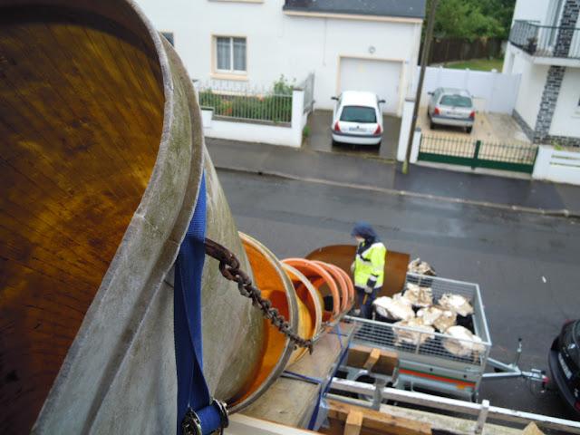 D molition plafond evacuation des gravats antoine - Goulotte de chantier ...