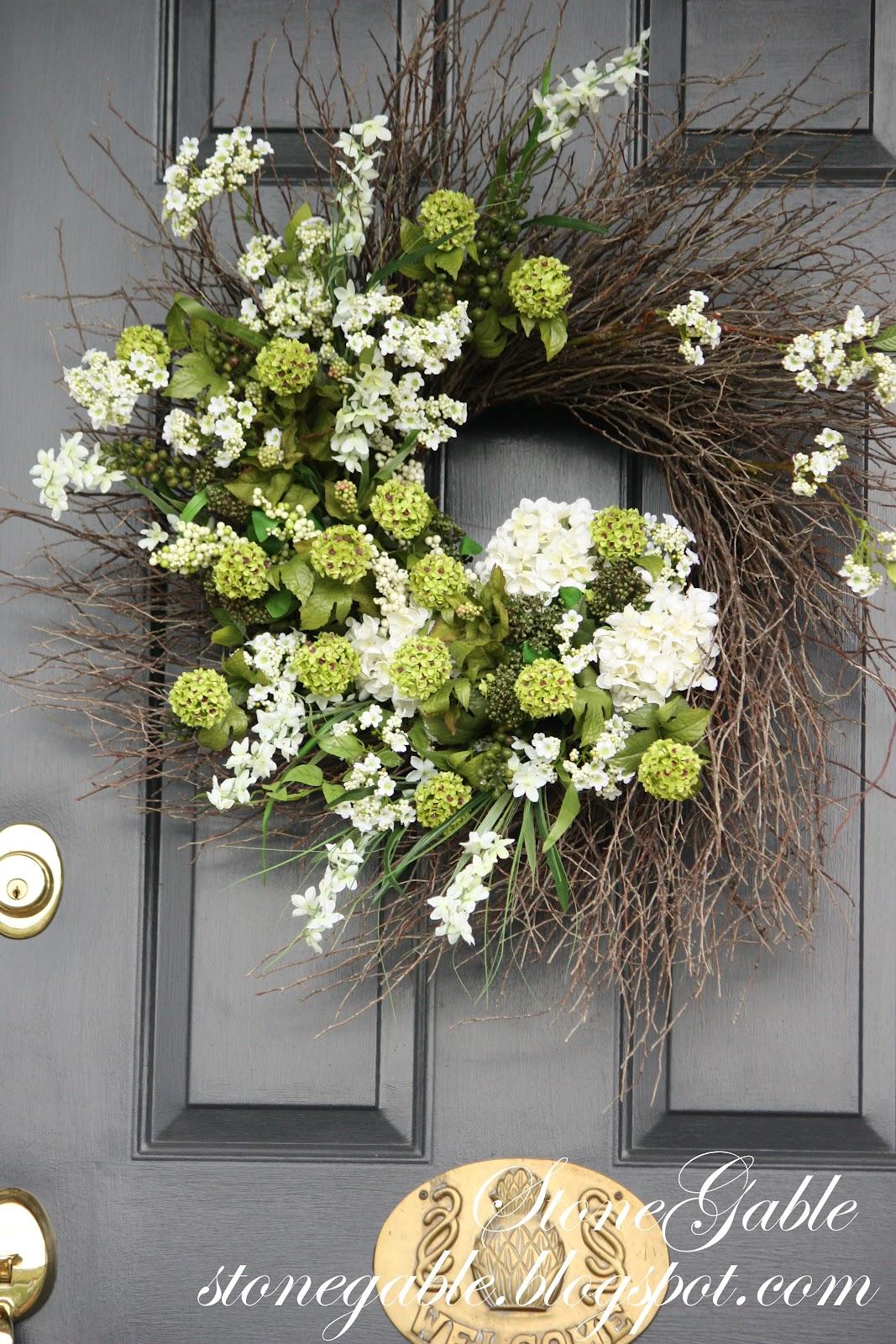 Summer front door wreaths - Summer Front Door Wreaths 40