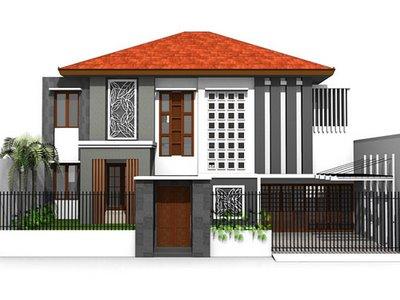 Model Desain Pagar Rumah Minimalis 2014
