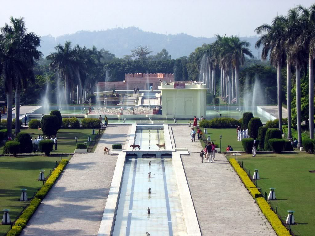 Panchkula India  city images : Pinjore Gardens, Panchkula, Haryana ~ Popular Temples of India