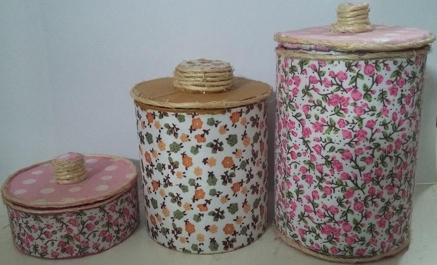 Latas y frasco de vidrio reciclados - Reciclar cosas para decorar ...