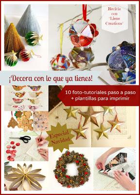 10 tutoriales DIY navideños gratis
