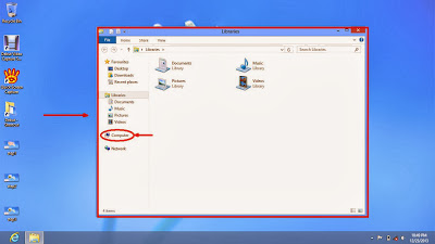 Learn how to hide files and folders in windows 8 step5