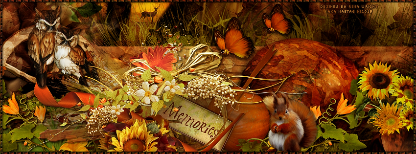 Afternoon Delight: Fall Memories-Facebook Timeline Cover by Me-FTU.