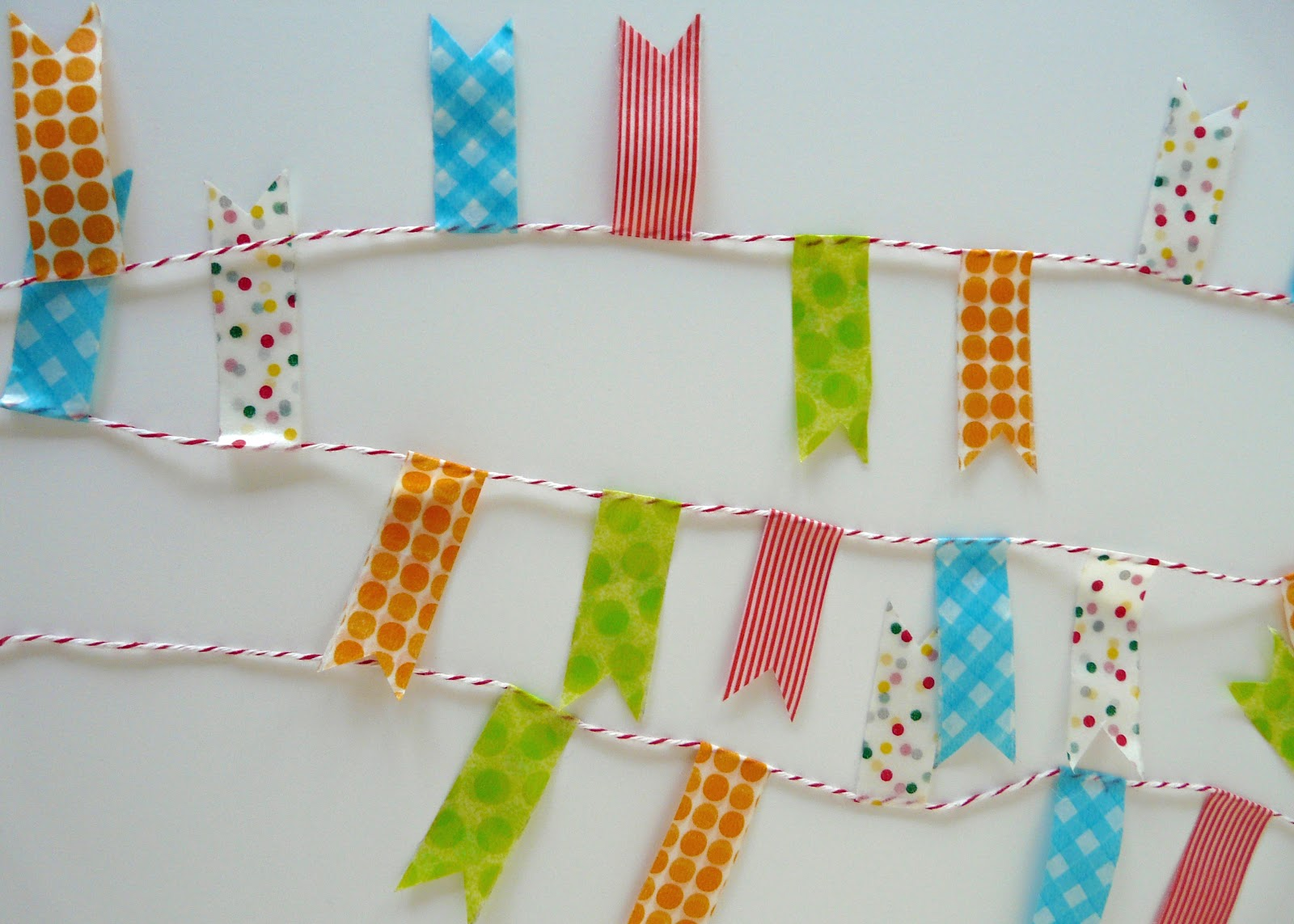Party Washi Tape Decorations Part 2