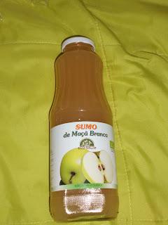 zumo manzana blanca