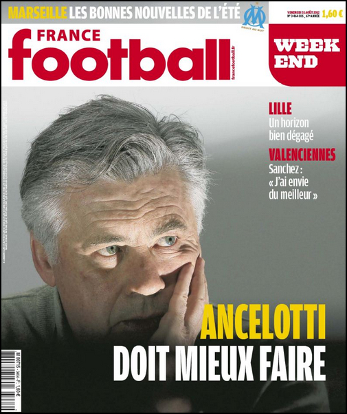 France Football Week-end N3464Bis - 31 Aout 2012 [Lien Direct]