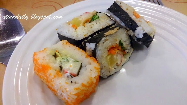 Kimbap and Sushi