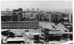 VISTA PARCIAL DO HOSPITAL MILITAR EM LUANDA - ANO 1965.