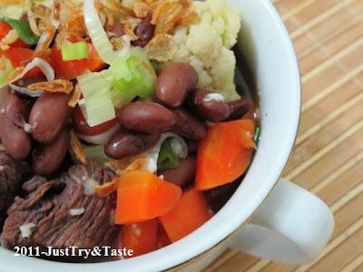 Just Try & Taste: Sup Senerek: Sup Kacang Merah dengan Daging Sapi ...