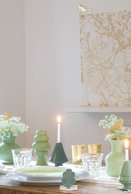 wunderschoen gemacht dinner im sommerwald. Black Bedroom Furniture Sets. Home Design Ideas