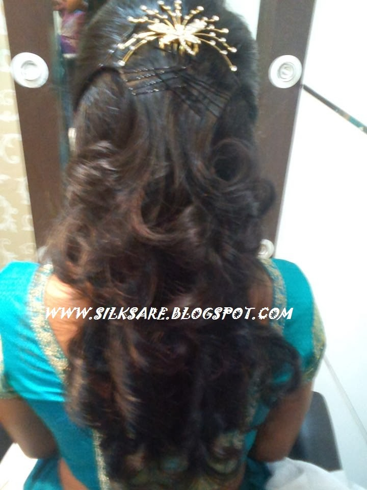 indian wedding hairstyle gallery%0A JEWELLERY WEDDING HAIR STYLE  latest Indian Hair style for reception