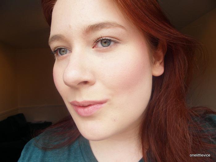 Dainty Doll Powder Blusher in Shade 004 You Are My Sunshine  review swatches fotd
