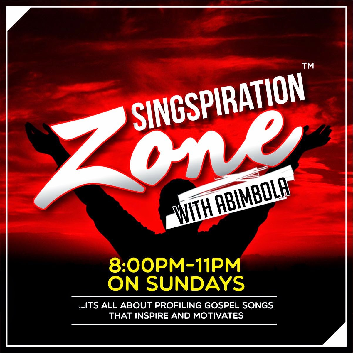 SINGSPIRATION ZONE WITH ABIMBOLA ON CITY 105.1 FM
