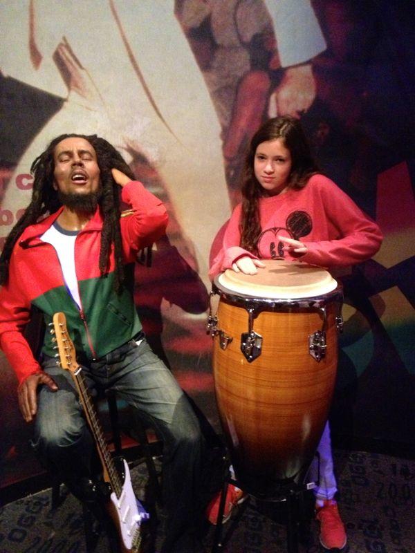 NowThisLife.com - Madame Tussauds - New York - Bob Marley