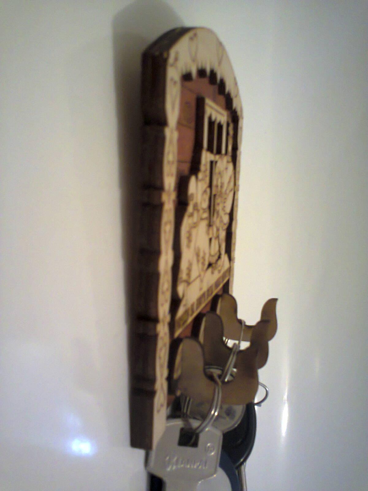 Ключница своими руками замок 1200