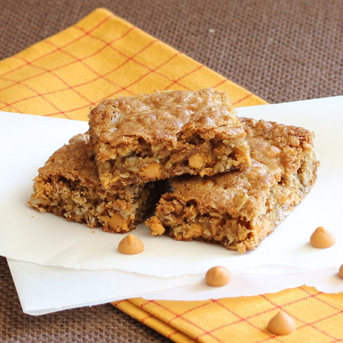 Have Recipes-Will Cook: Oatmeal Butterscotch Bars
