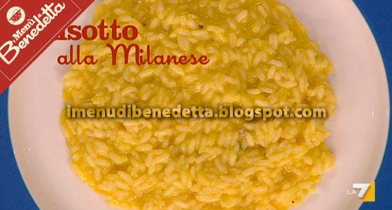 Risotto alla Milanese di Benedetta Parodi