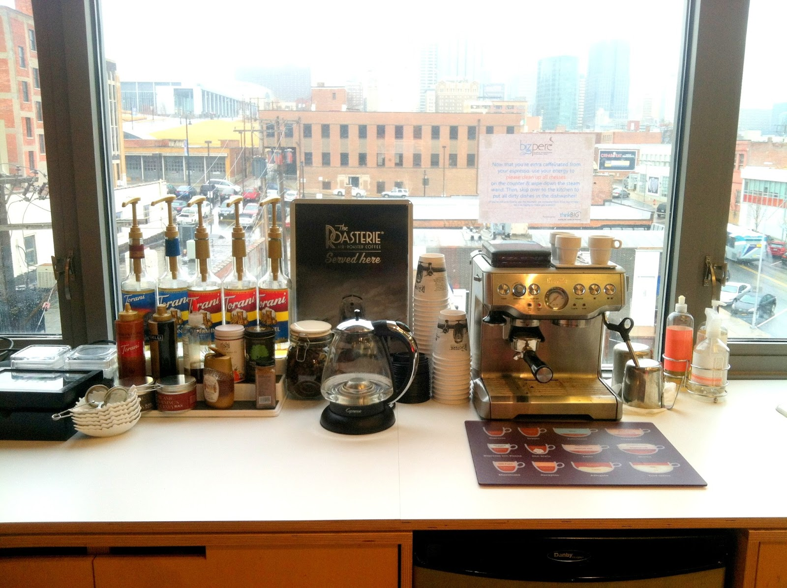 Elegant The 5 Reasons Every Office Needs A Coffee Bar