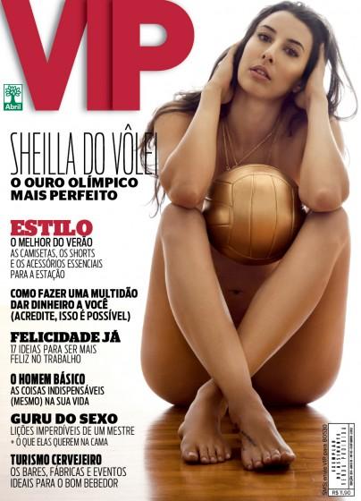 Revista VIP Sheilla do Vôlei