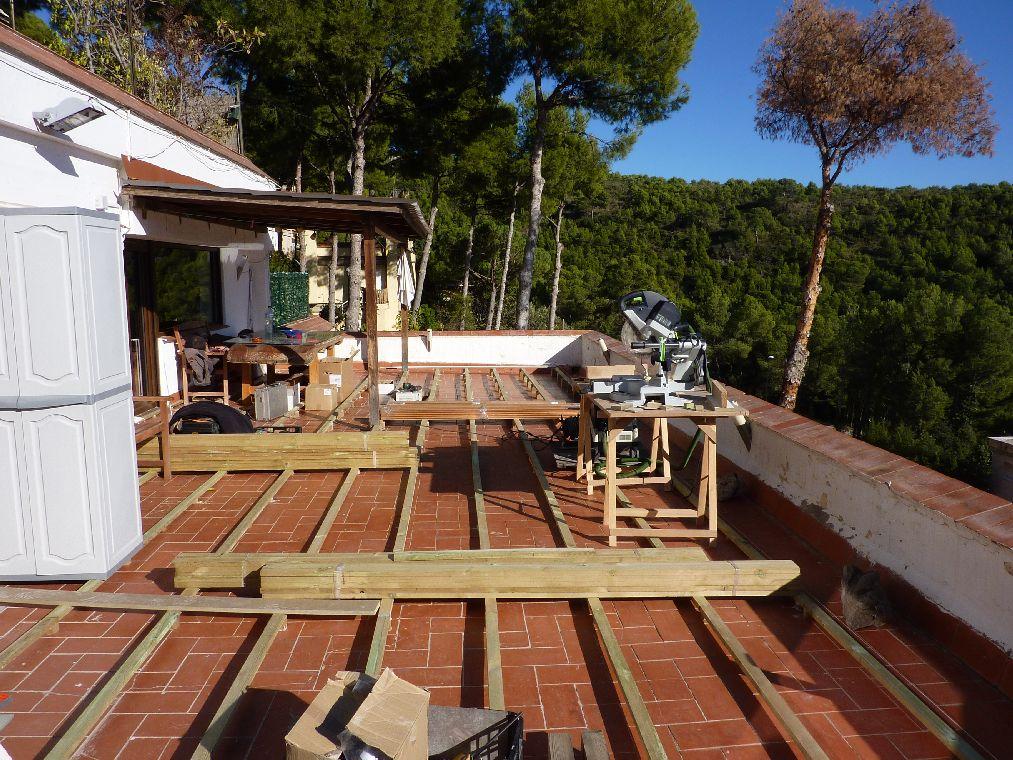 Carpinteria muebles a medida tarima de exterior en - Tarimas de madera para exterior ...