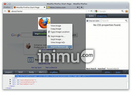 Mozilla Firefox 10 screenshot - 02