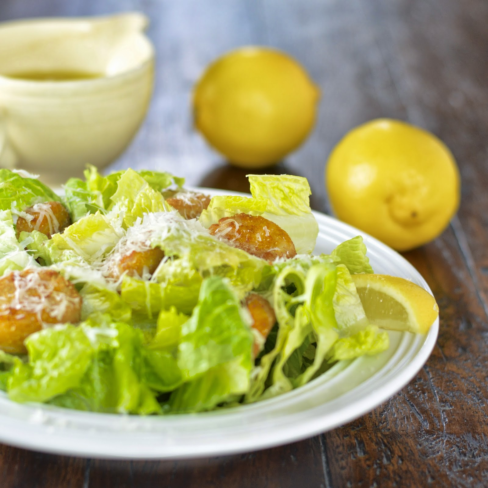 Easy Caesar Salad Dressing   Virtually Homemade: Easy Caesar Salad ...