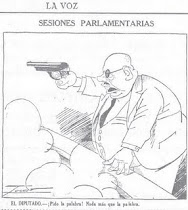 Cuando Indalecio Prieto sac su pistola en el Congreso de los Diputados (1934)