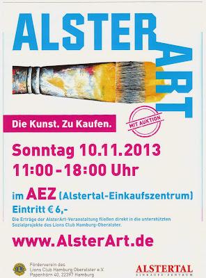 Alster Art AlsterArt Einkaufszentrum Poppenbüttel AEZ
