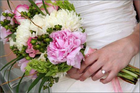 Hoa cưới cầm tay 01