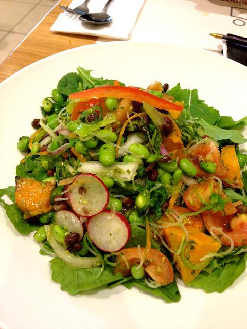 wagamamas noodle salad