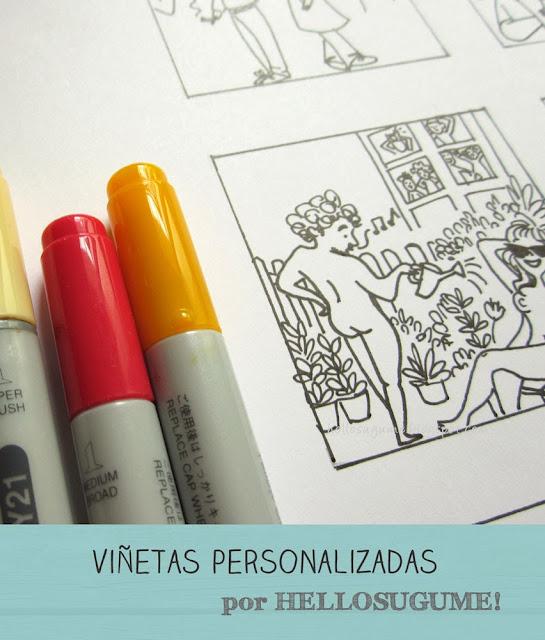 Il·lustració personalitzada Vic