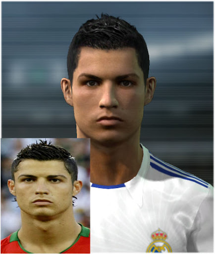 Cristiano Ronaldo HD Face by mr[a]shin286