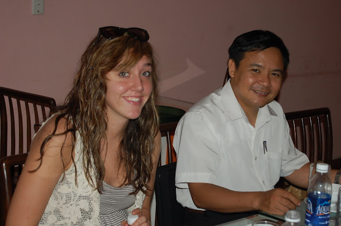 Mandy and Mr. Nghi
