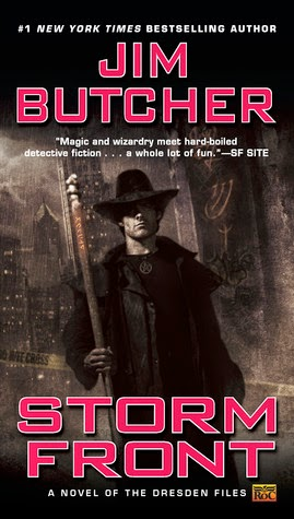 The Dresden Files by Jim Butcher (Reader: James Marsters)