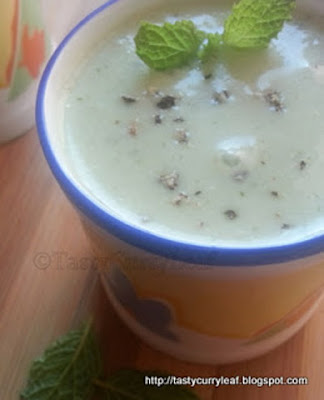 cucumber mint soup