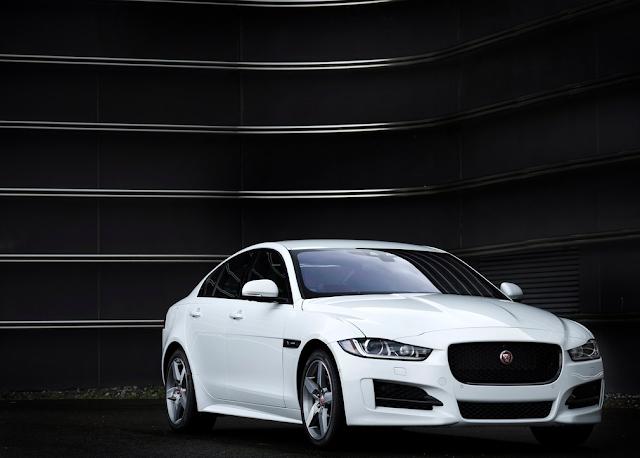 2016 Jaguar XE white