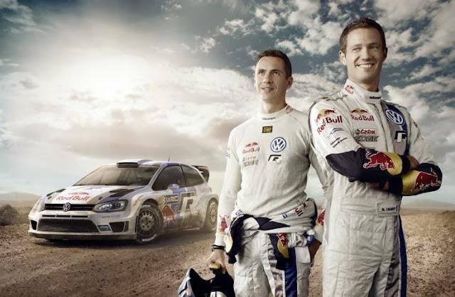 Sébastien et Julien et Polo R WRC