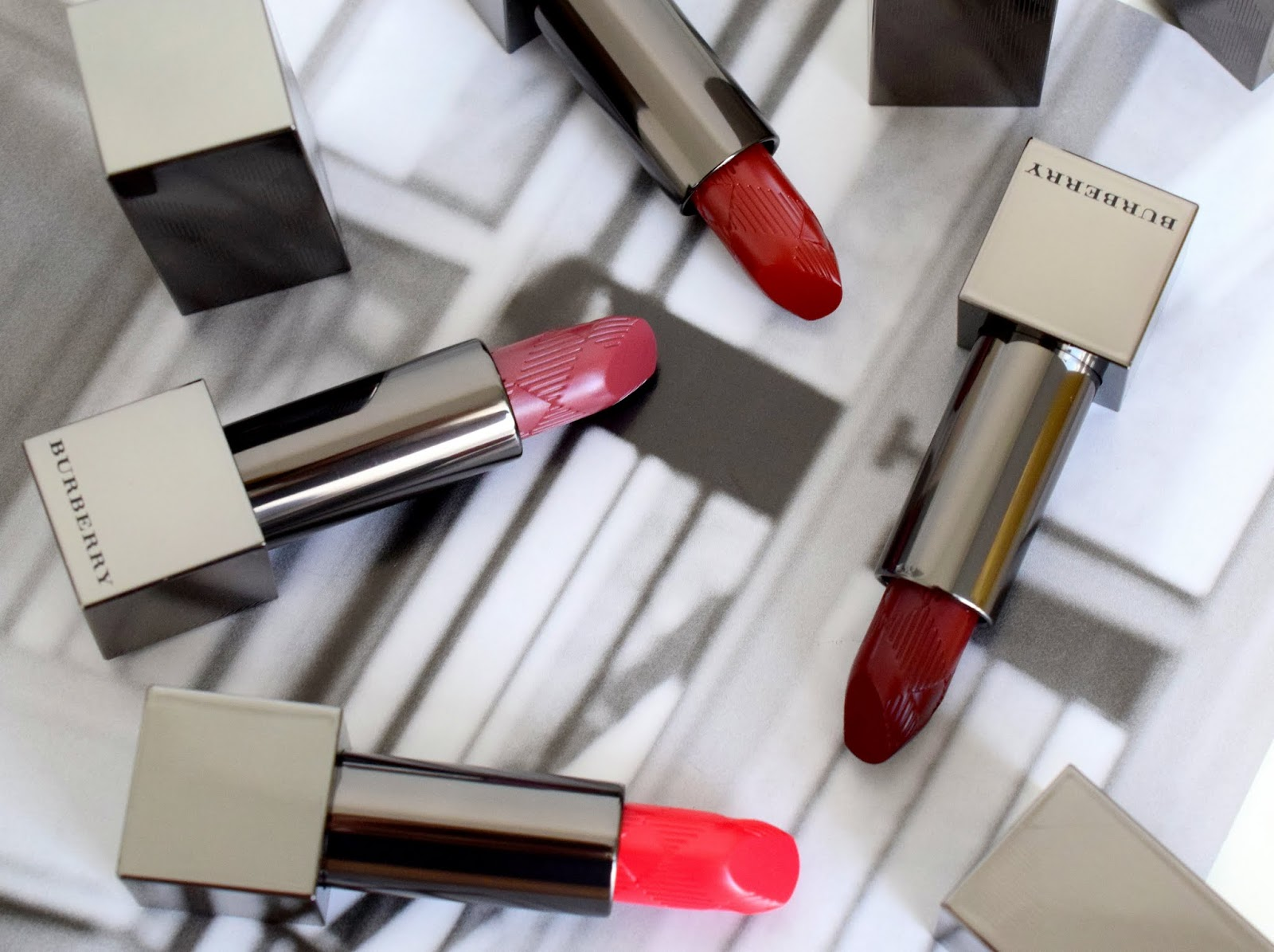 Review & Swatches: Burberry Kisses Lipsticks